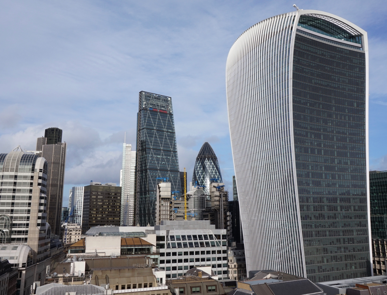 The Cheese grater, the Gherkin and the Walkie Talkie