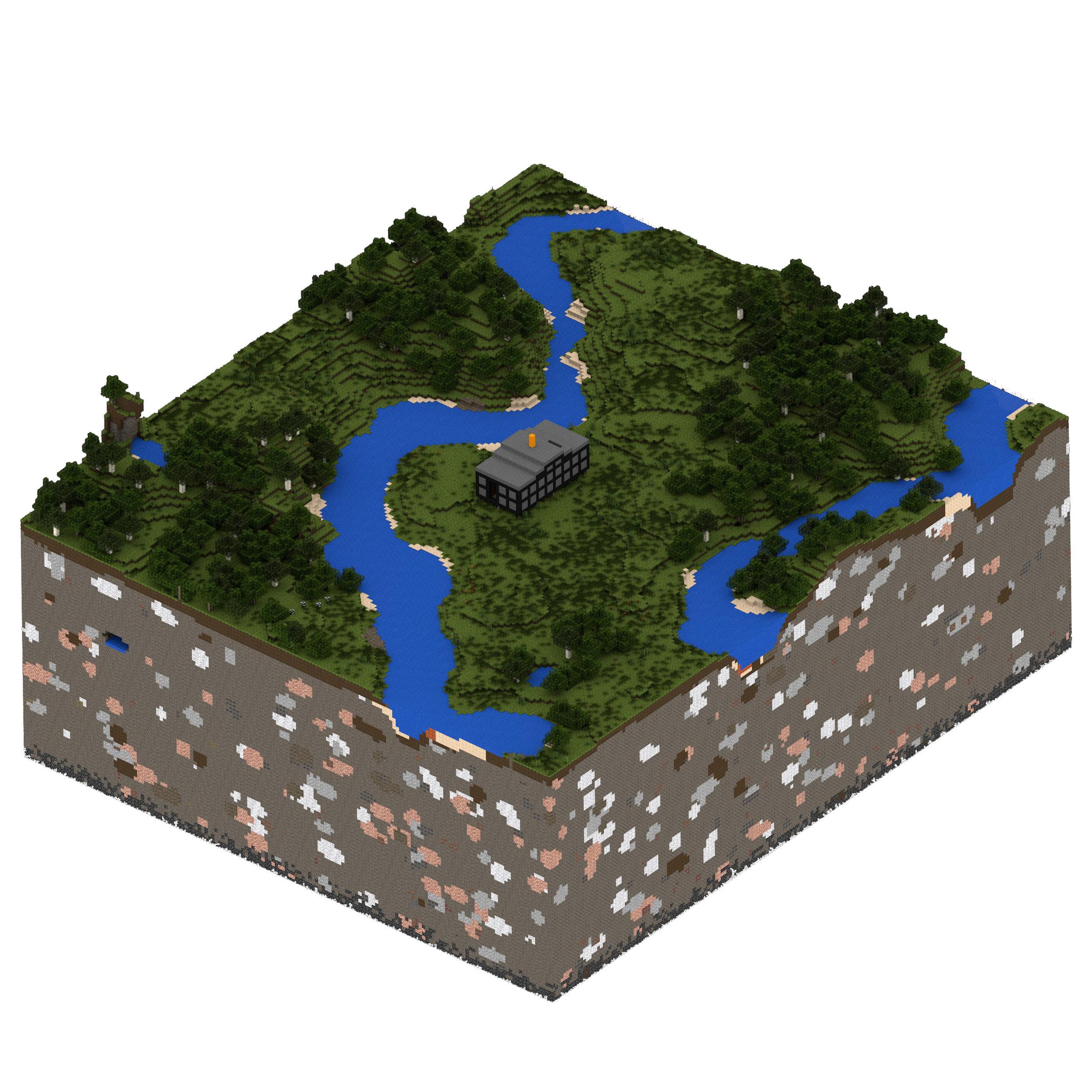 Shed - minecraft render