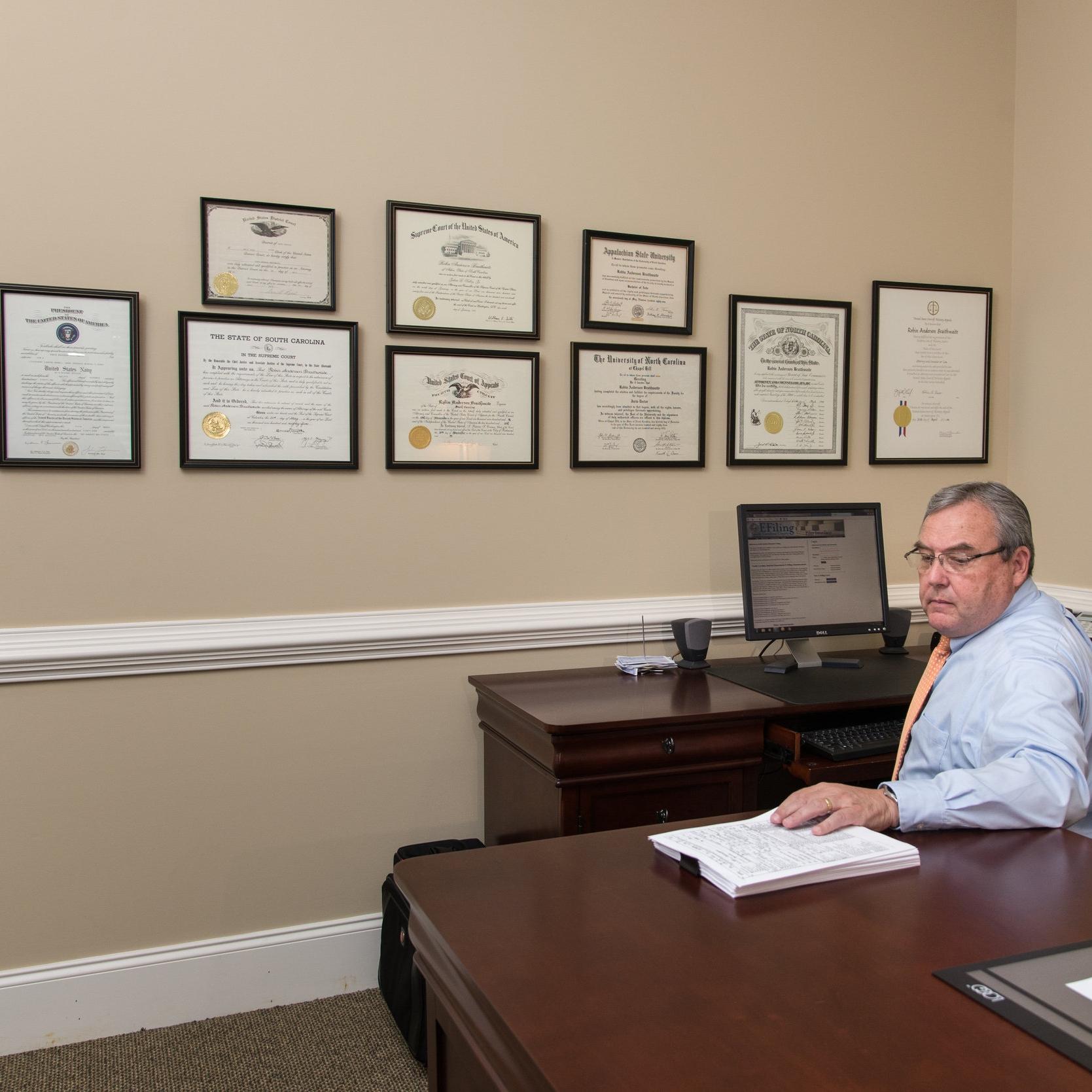 Rob Braithwaite Mediation Mediator Law Firm Civil Litigation Trial Plaintiff Defense