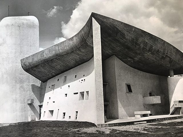 Visiting Le Corbusier's magnificent Roman Catholic chapel built in 1955