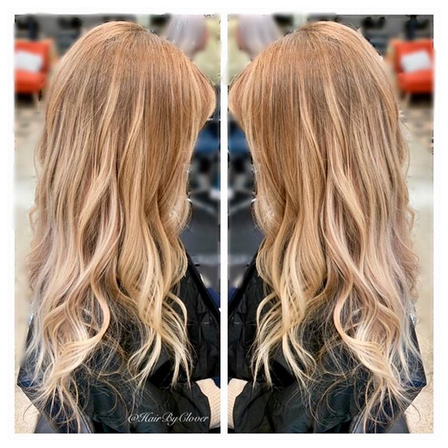⚡️•Balayage Dimensional Blonde •⚡️ • #hushhushbangbang #blondehair #blondebalayage #blondehighlights #warmblonde #balayage #balayaged #balayageombre #balayagehighlights #wcw #longhair #hair #beauty #fashion #stylist #hairofinsta #hairofig #hairoftheweek #hairoftheday #hairofinstagram #bestofhair #HOTD #strawberryblonde #hairbyclover