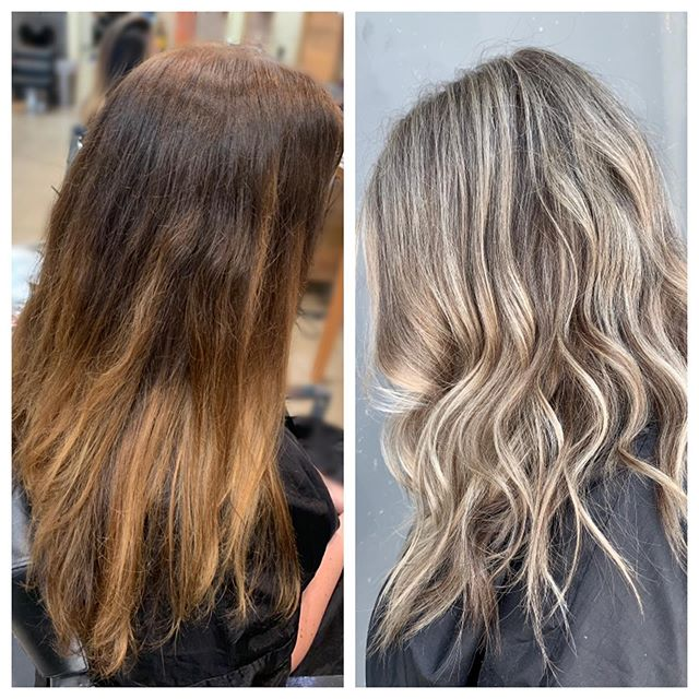 ⚡️⚡️Gradual Blonding Technique ⚡️⚡️ Full head of highlights,baby lights & 3 hours in-chair.  #schwarzkopfblondeme #b3 #blondehair #blond #dimensionalblonde #highlights #babylights #blonder #blonderful #hair #hairstyles #haircolor #haircut #eufora #hushhushbangbang #hairenvy #hairinspo #btc #beforeandafter #hairbyclover #oc #costamesa #newportbeach #santaana