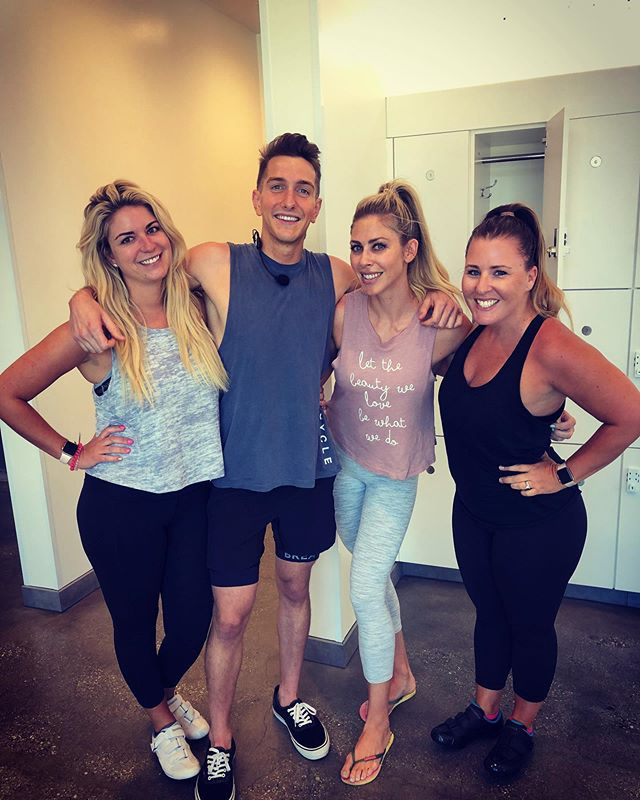 Sometimes life takes you in directions that bring really special people into your life! Matt, you are one of a kind! THANK YOU for helping me find my inner bad ass and unleash her!! Your gift of bringing people together has also brought these two rad babes into my life and I'm so grateful! LA FRIENDS! Keep an eye out for this guy at SoulCycle and get your booty to his class ASAP!!
