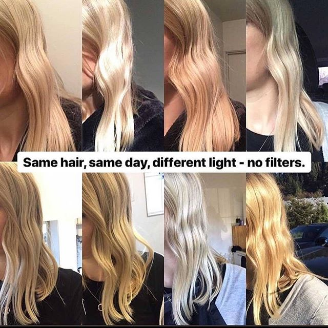 @behindthechair_com Posted this a while back and couldn't be more true. Just a friendly reminder, Lighting effects all we see. #TheMoreYouKnow #knowledge #hair #hushhushbangbang #ocsalon #costamesa #newportbeach #blondehair #brunettehair #lighting #haircolor #colortones #redhair #hairgoals #hairinspo #hairbyclover #nofilter #struggleisreal