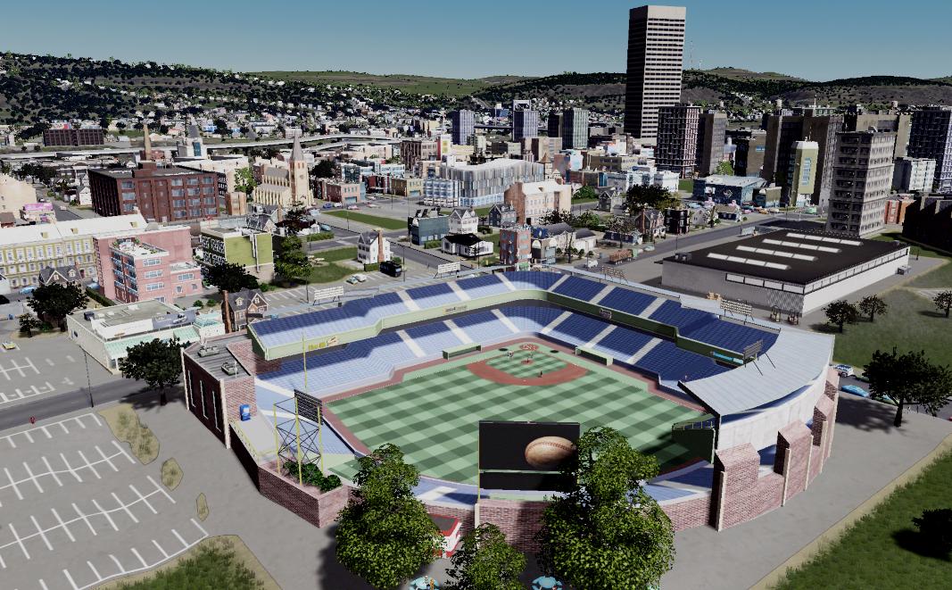 Downtown Binghamton - NYSEG Stadium