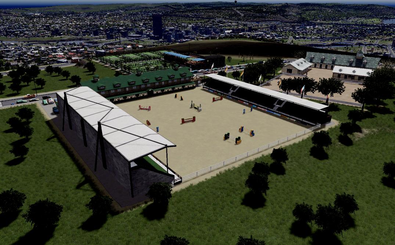 Binghamton -Binghamton Tennis Center and South Wind Stable