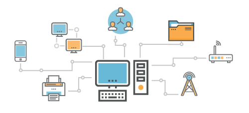 IT solutions for your network, including desktops, laptops, servers, routers, printers, backup solutions, file sharing and so much more