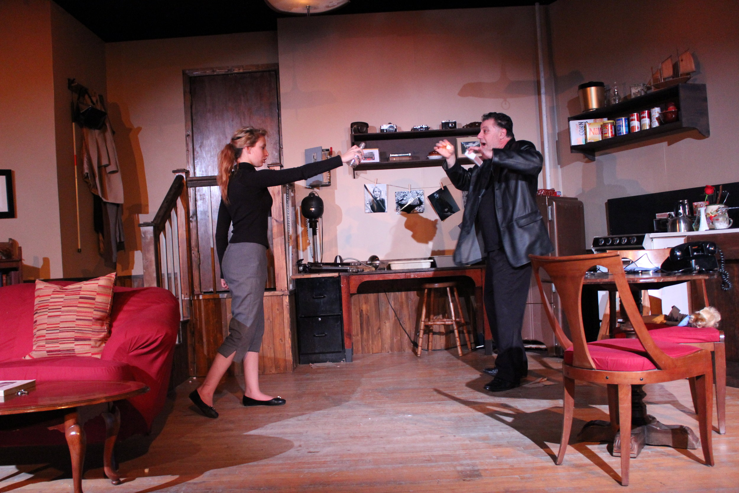 Photo from Wait Until Dark, The Edge Ensemble