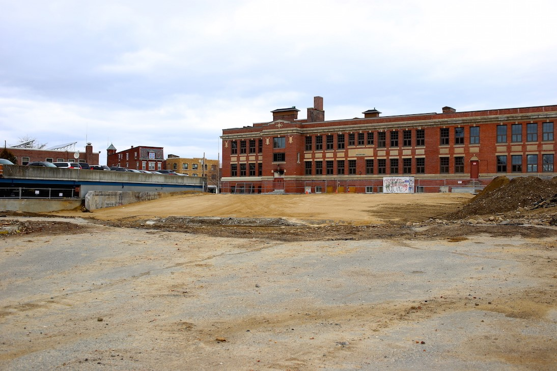 The building site March 2017