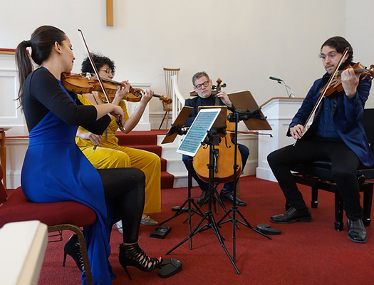 Catalyst Quartet - March 24, 2019 - First Church in Jaffrey Center