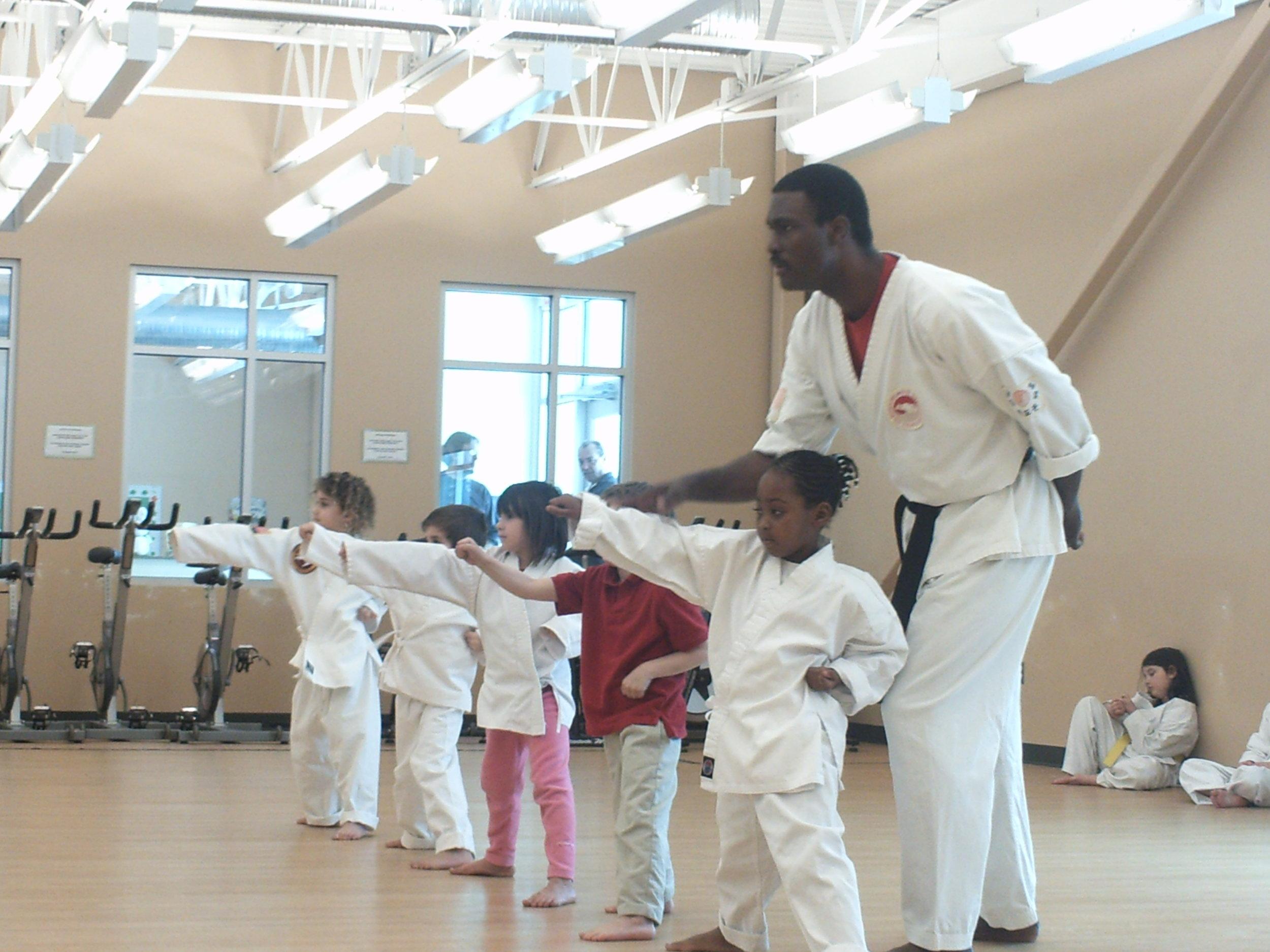 Trin in Karate class.JPG