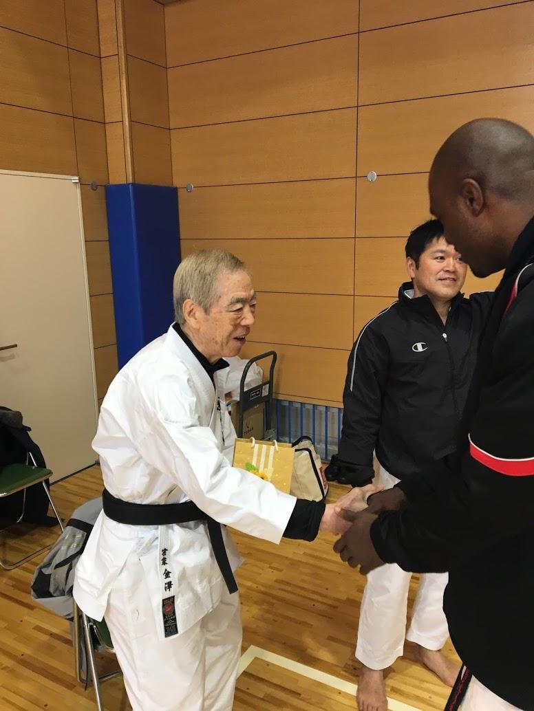 Meeting Hirokazu Kanazawa