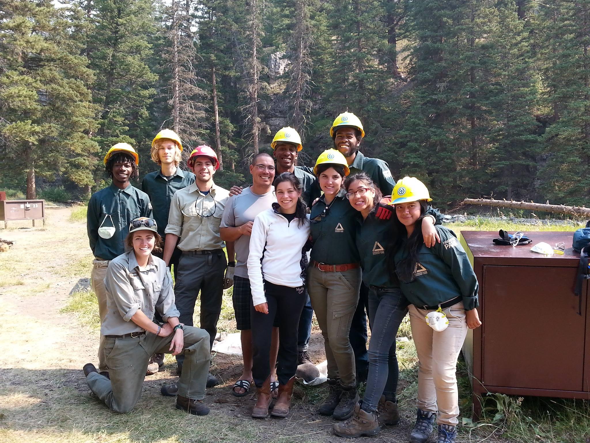 Yellowstone Service Trip