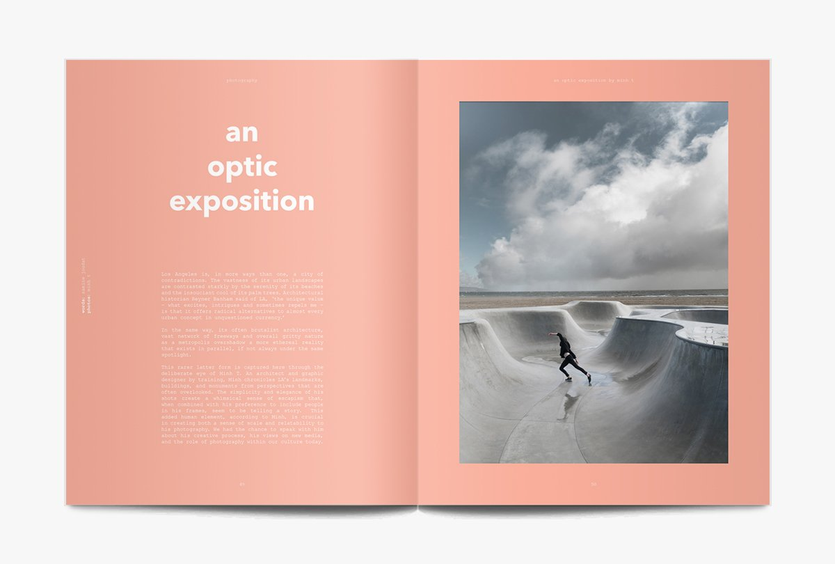 'claiming inspiration from the likes of Theodor Adorno, Rem Koolhaas and David Lynch, aesthetic/theories uses big ideas as a starting point for exploring creativity and cool.' - stack magazines, london