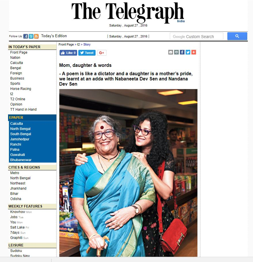 The Telegraph - click here for full article  August 27, 2016