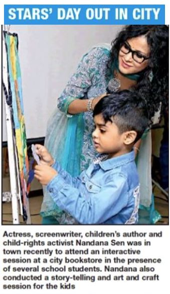 """Calcutta Times, Times of India, """"Kolkata Is Talking About""""  September 1, 2018"""