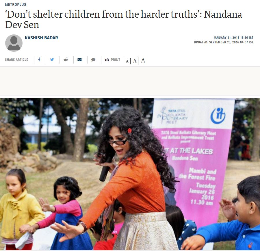 The Hindu - click here for the full article (external link)   January 31, 2016