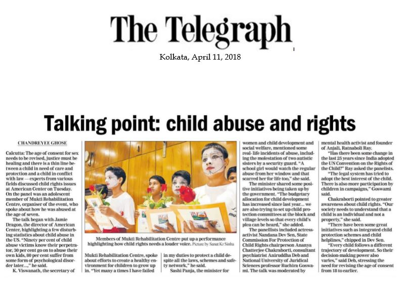 The Telegraph  April 11, 2018