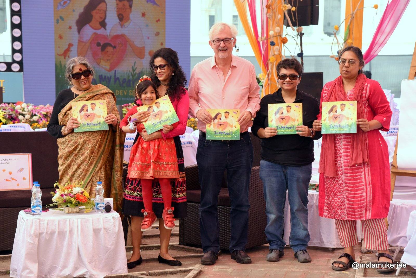 Nandana Sen launches her sixth book 'In My Heart' on adoption  Outlook - click for full story  January 25, 2019
