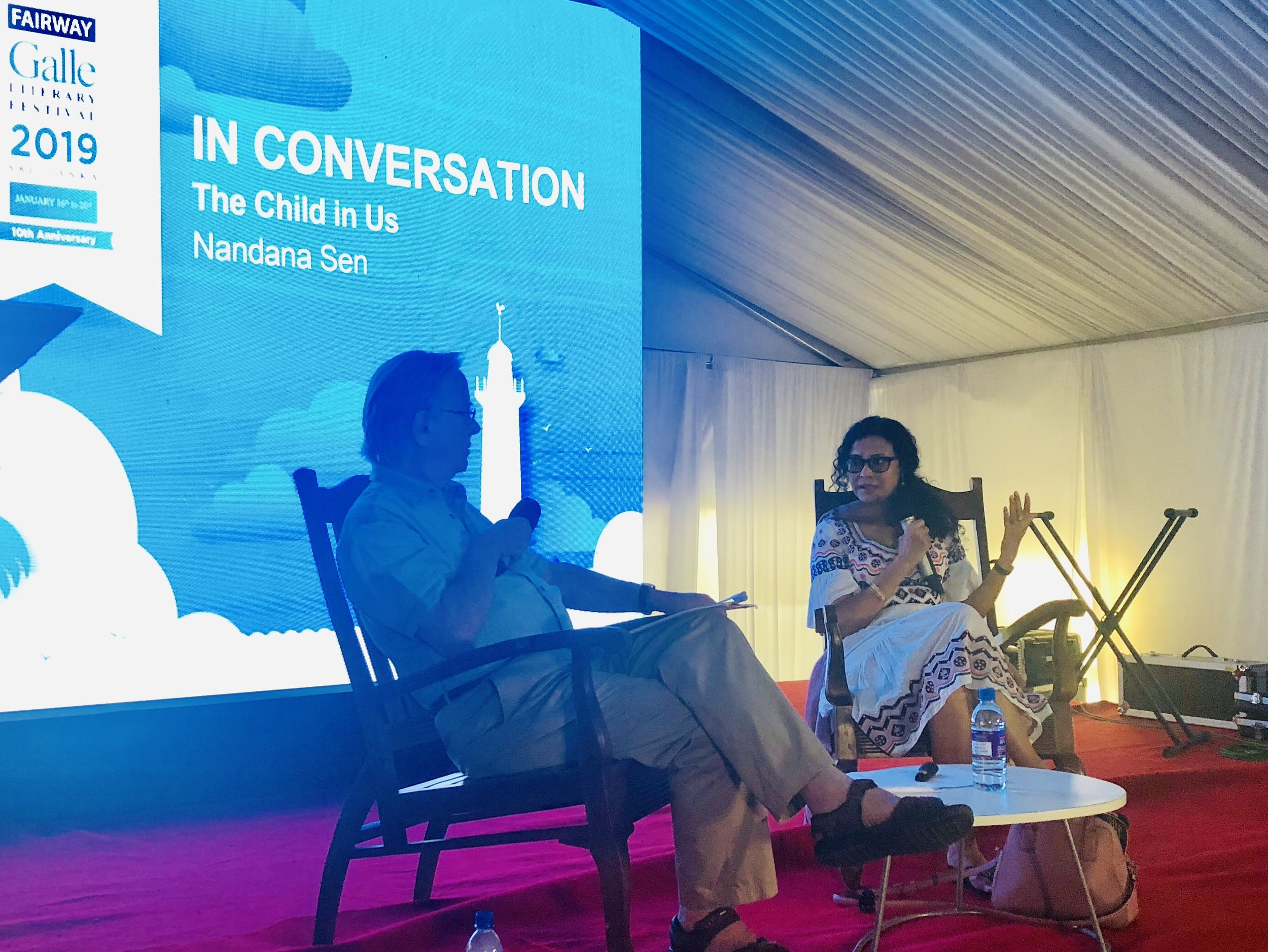 The Child In Us: Nandana Sen speaks about the rights of children and her work in child protection at the Fairway Galle Literary Festival January 18, 2019