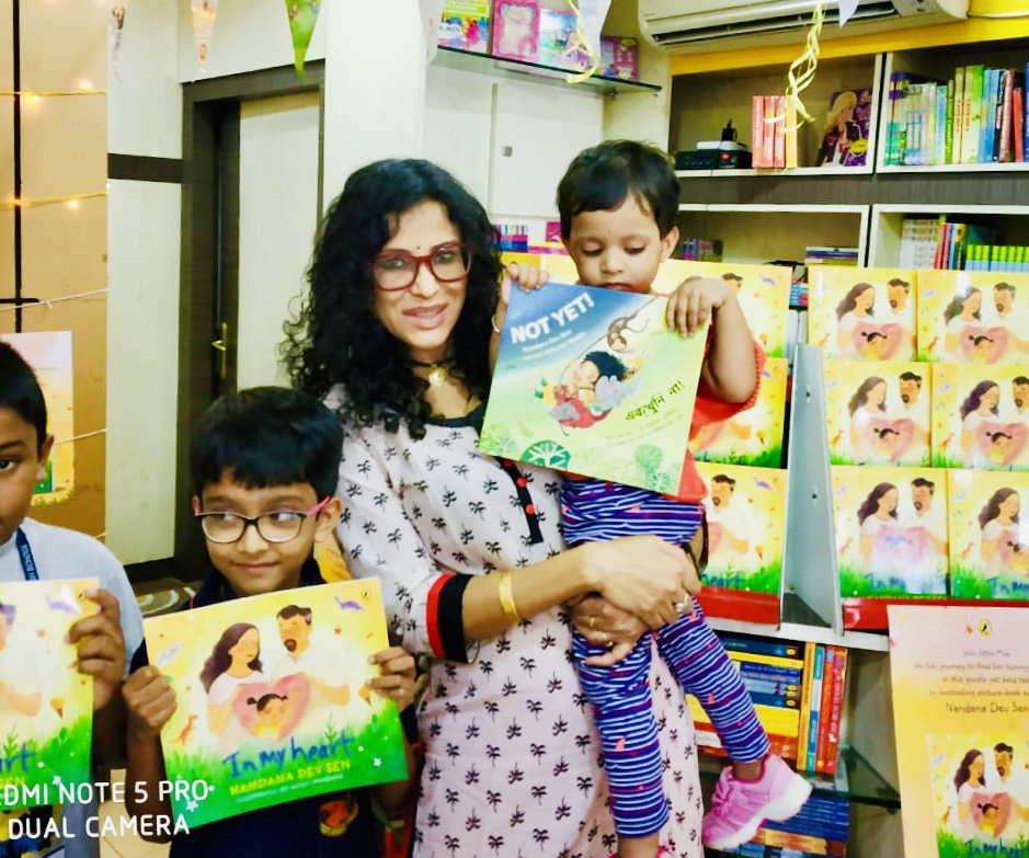 Oxford Subscription Book Club Storytelling Session, The Story Teller Bookshop, Kolkata, India  April 20, 2019