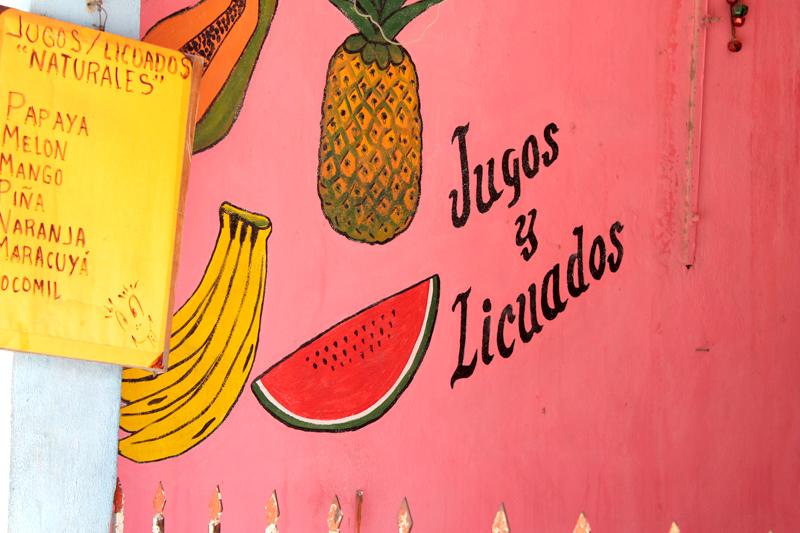 tulum mexico colourful fruit
