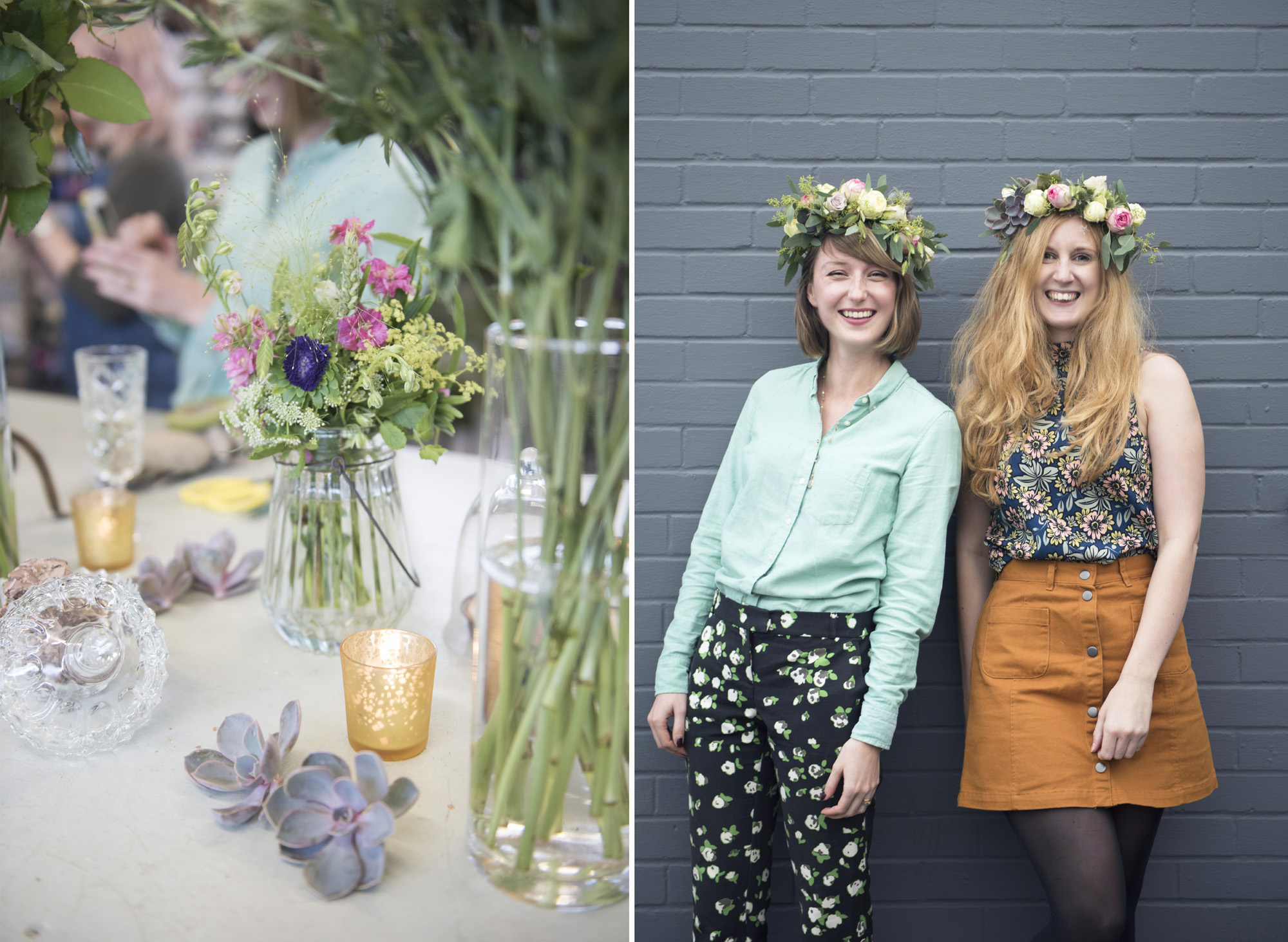 your london florist flower crown
