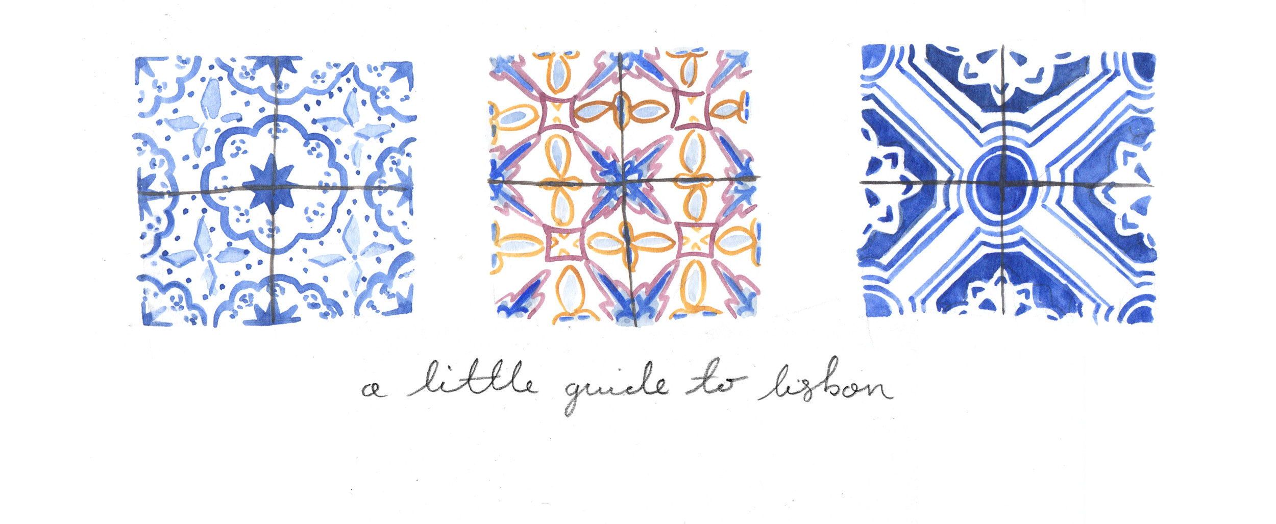 a little guide to Lisbon