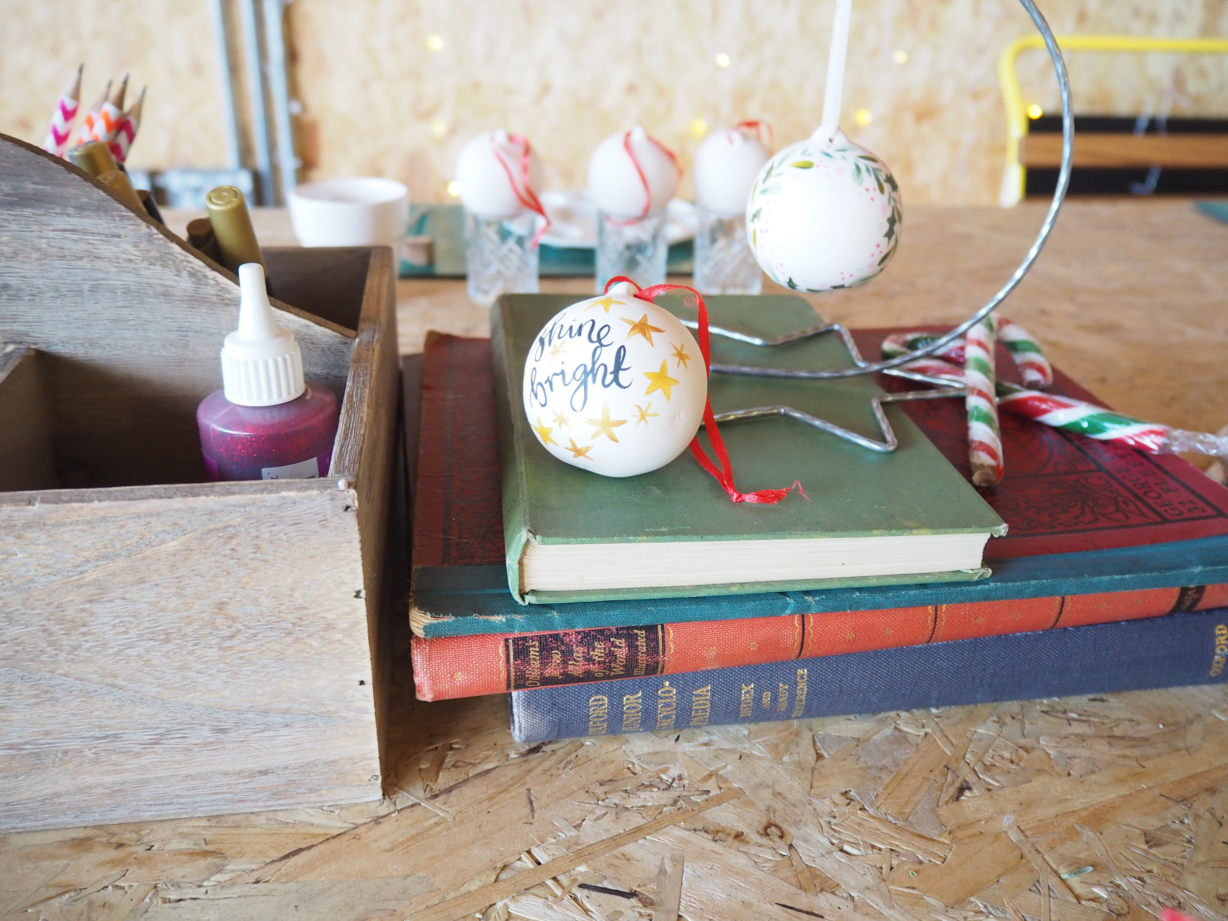 emma block bauble workshop