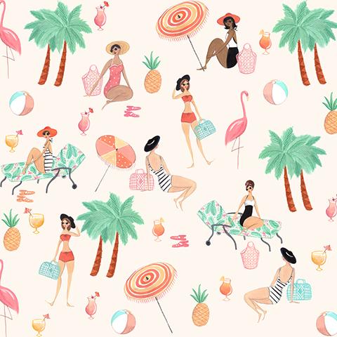 Pattern for Sun Jellies