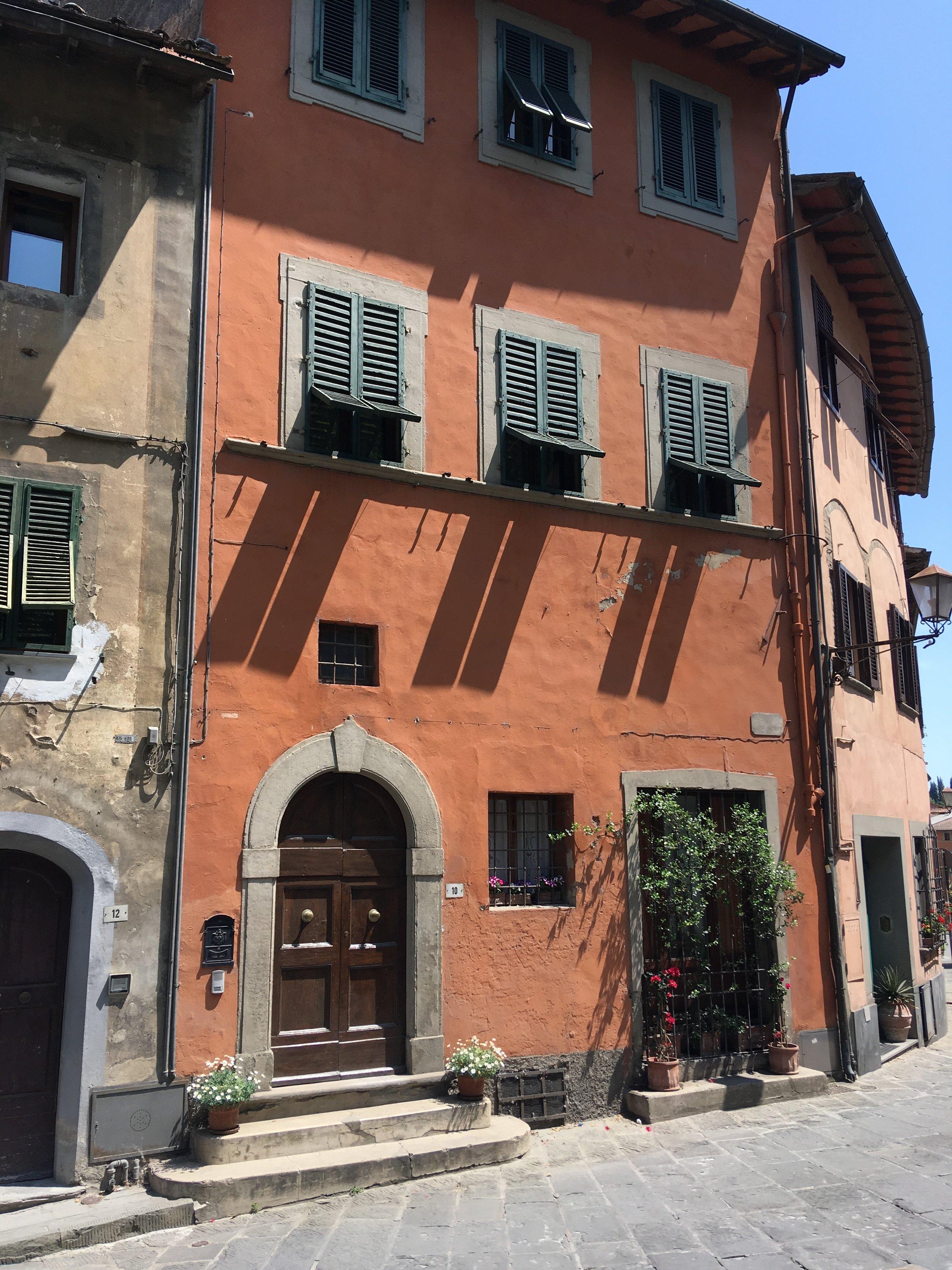 san miniato tuscany emma block  orange house.JPG