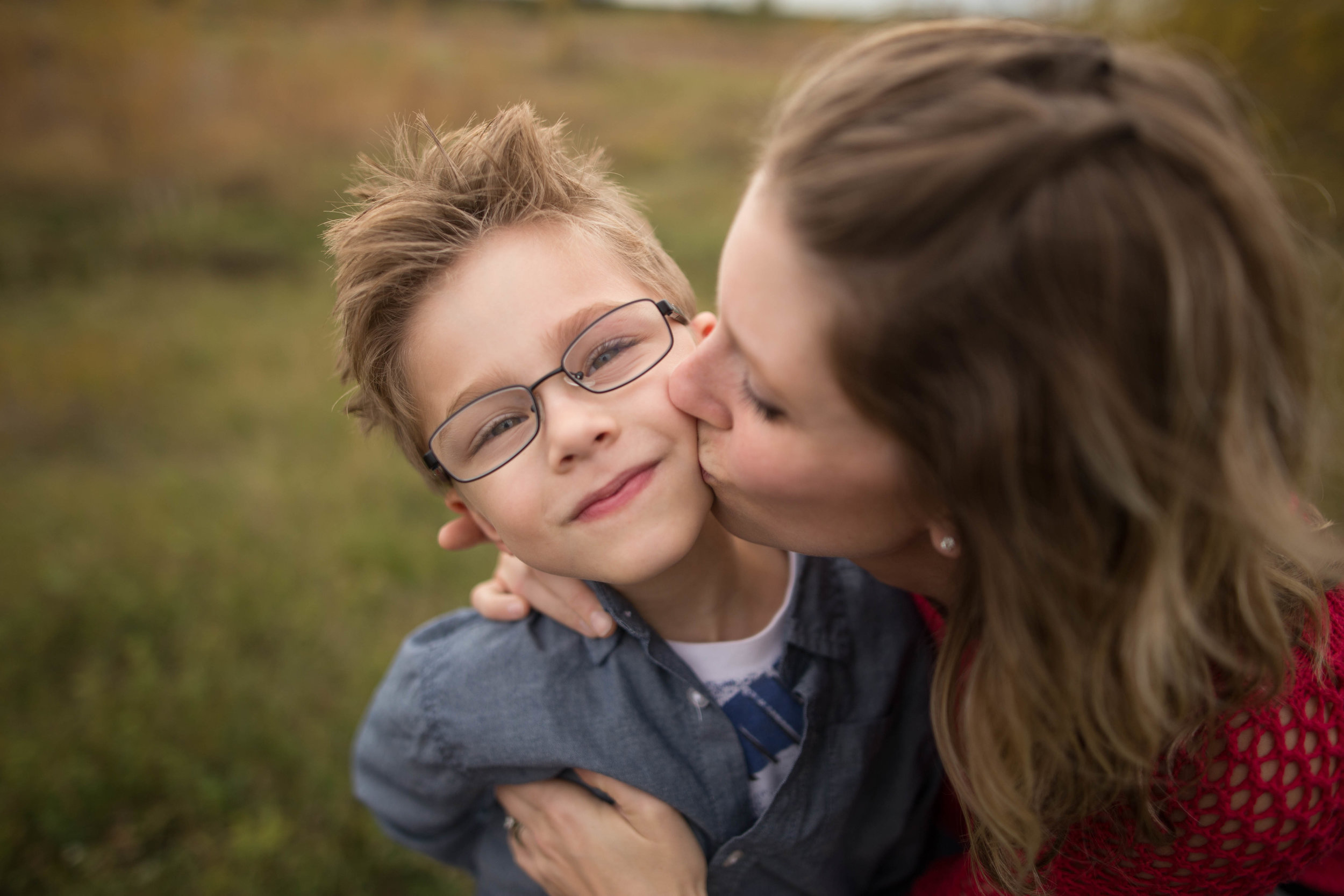 mother and son photography } edmonton