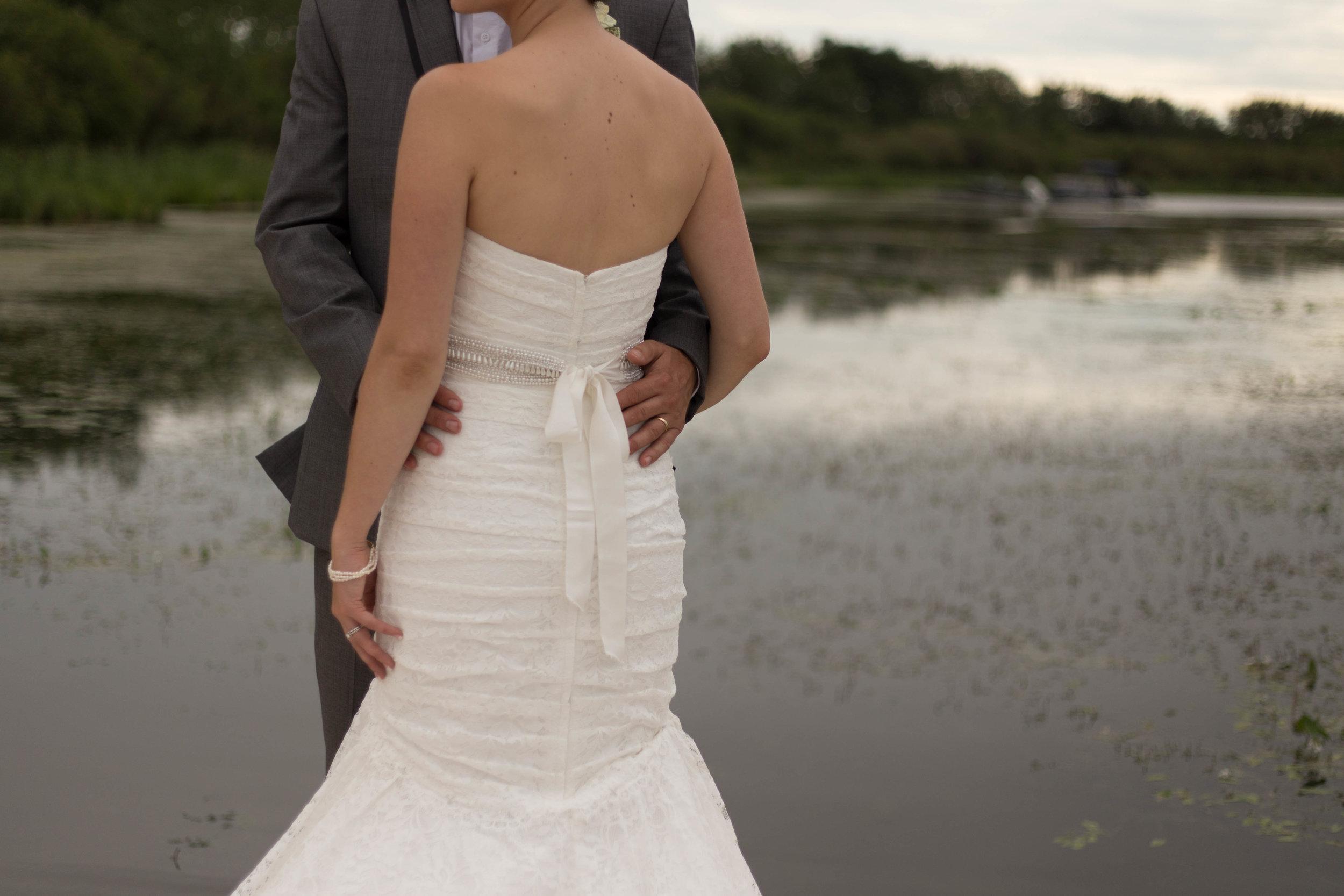 bride and groom wedding image. cold Lake, AB