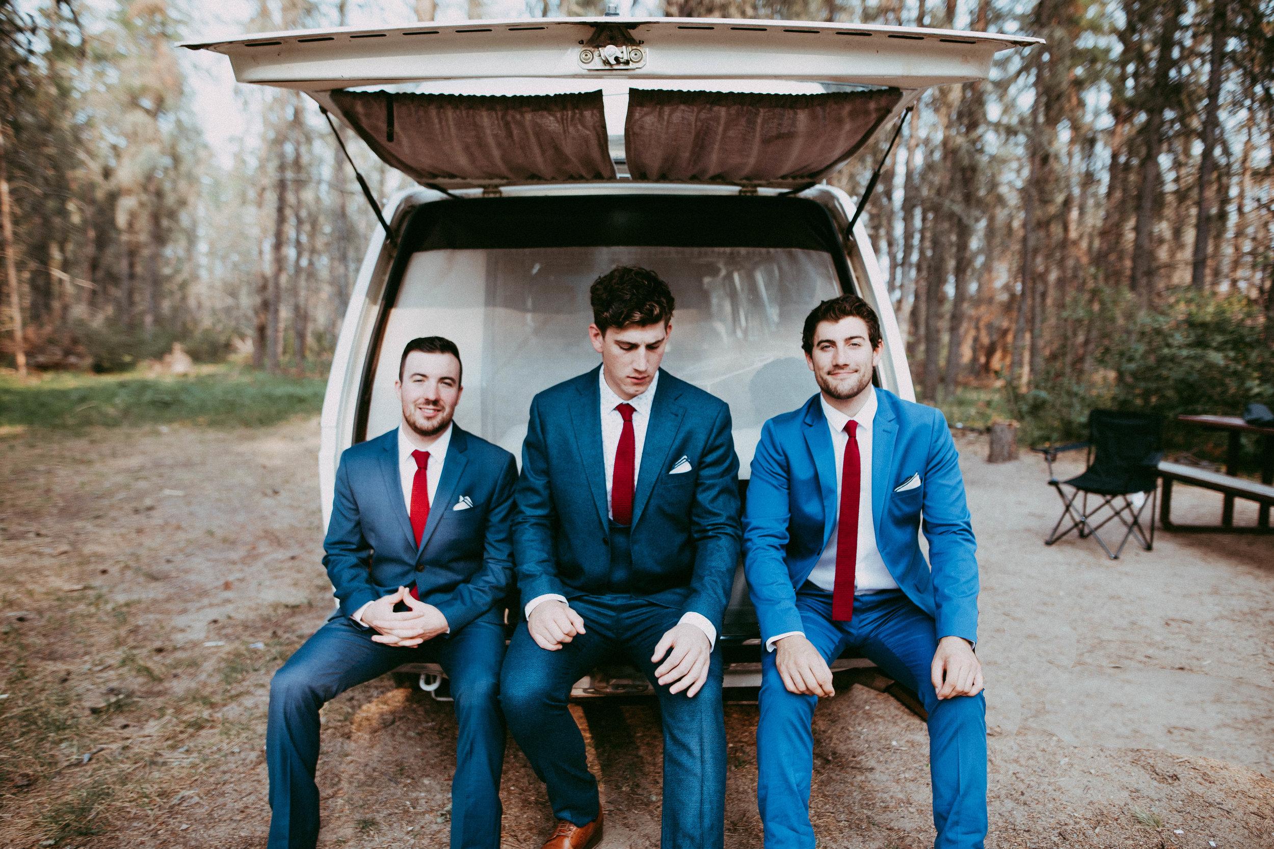 groomsmen meadow lake wedding