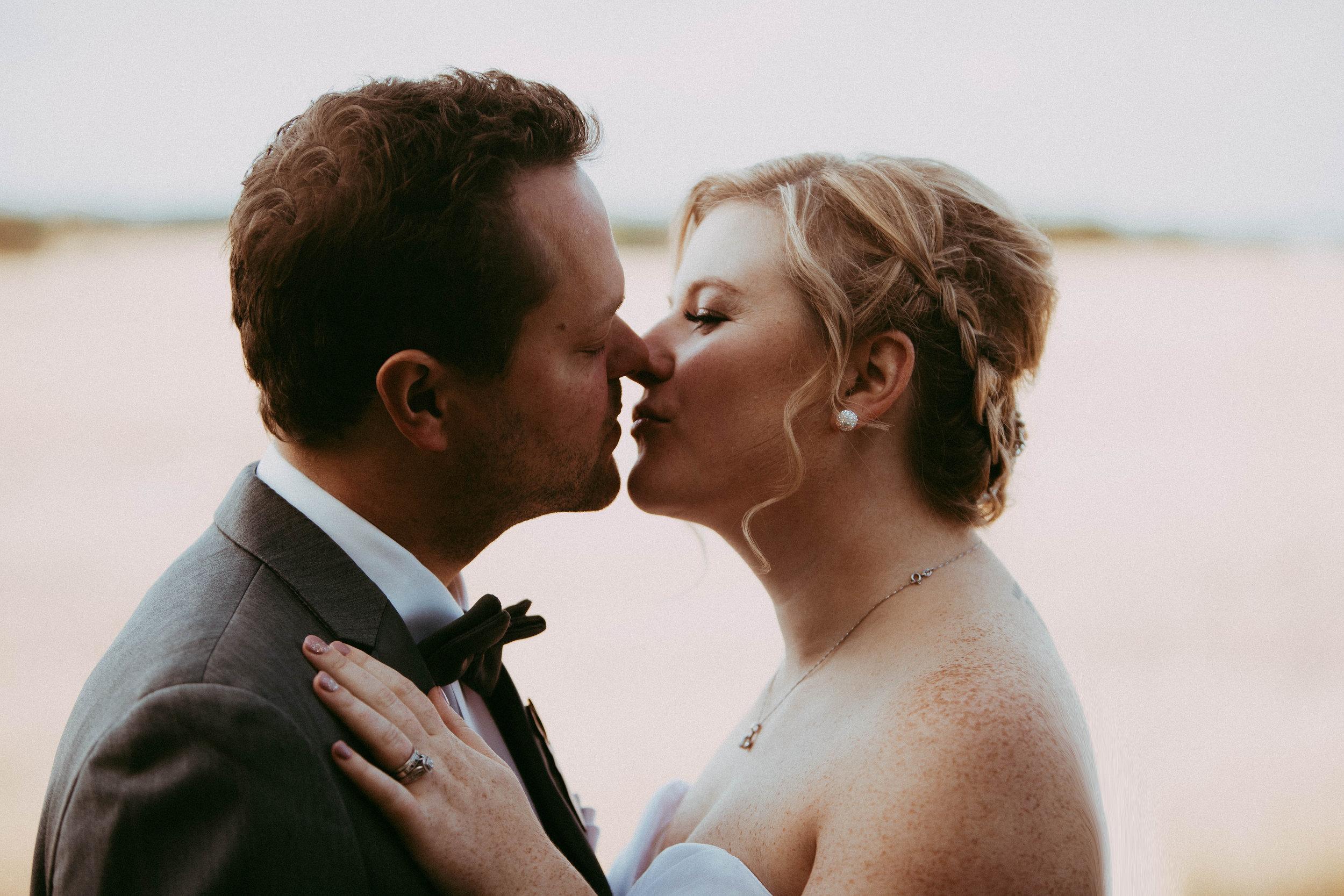 close up Edmonton wedding