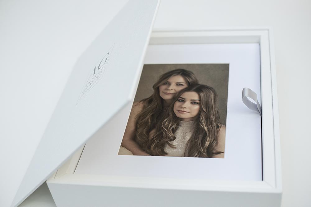 Angela Graham Photography: Italian leather folio box