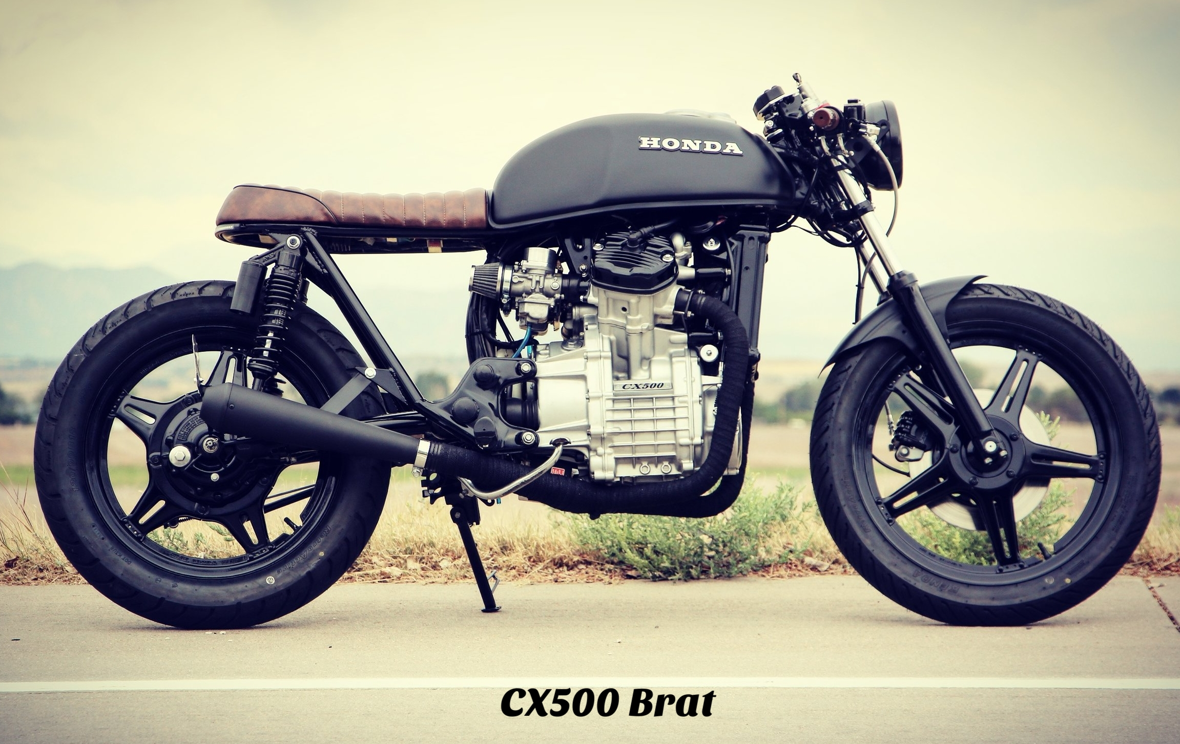 CX500 brat cafe racer