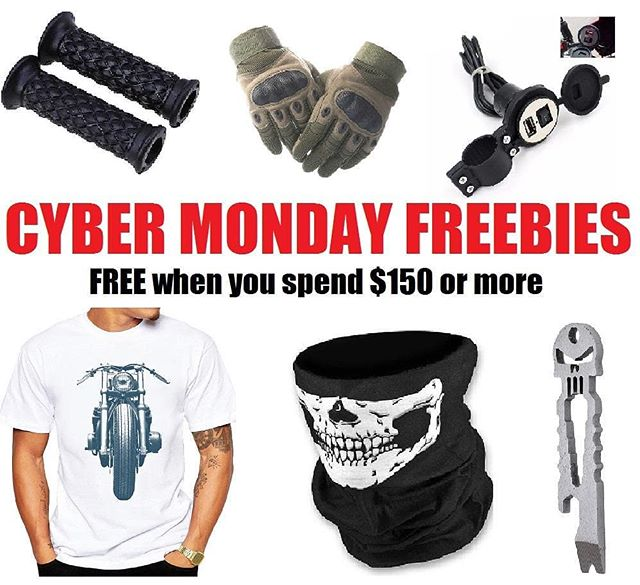 Last chance! Cyber Monday is almost over lakemoto.com #caferacerporn #caferacer #bratbike #instabike #caferacerxxx #caferacergram #caferacerculture #cx500 #cb750 #cb550 #lakemotorcycle #croig #gs750 #caferacerparts #pipeburn #bikeexif #cybermonday #freebies