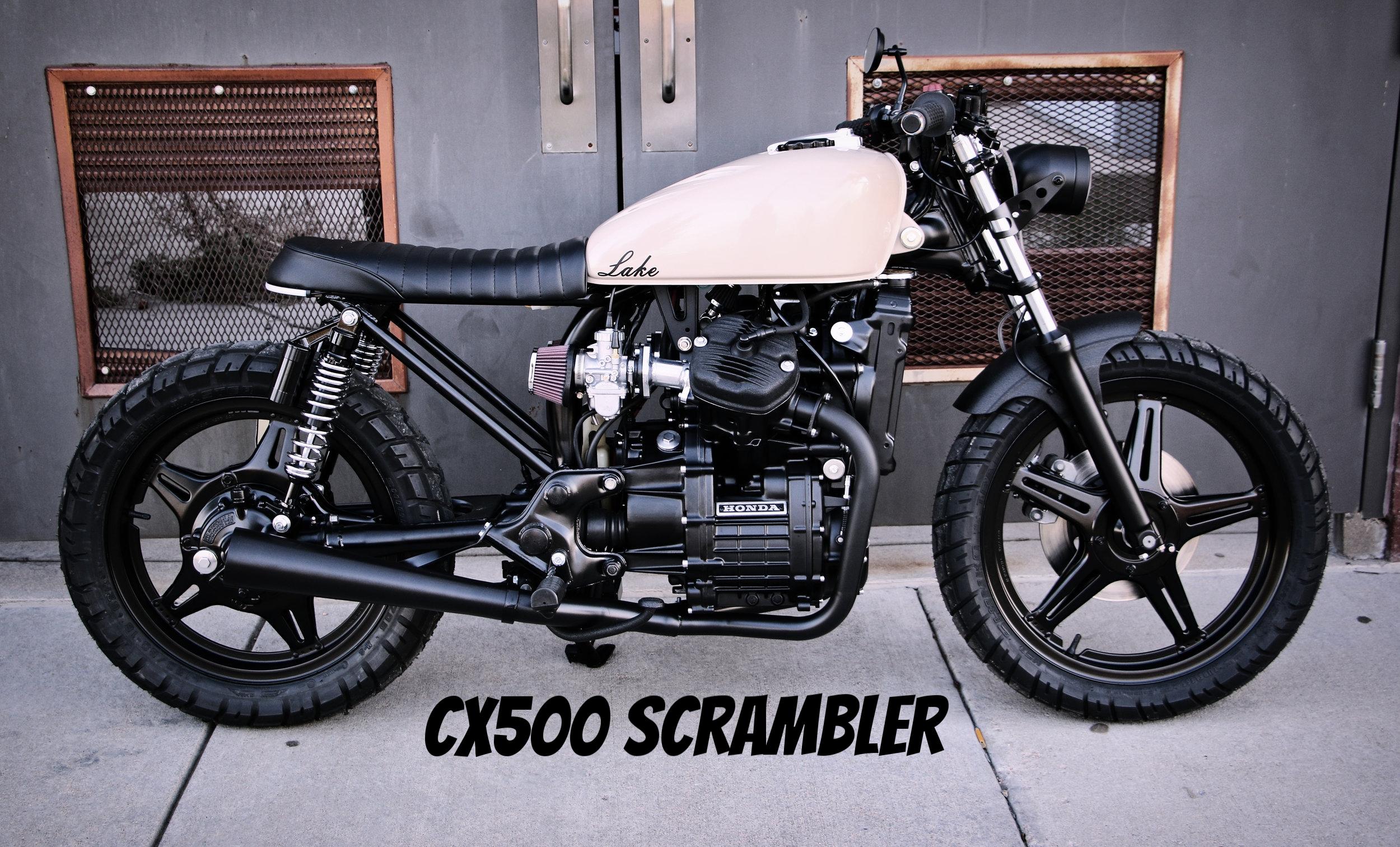 CX500 scrambler
