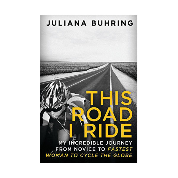 This Road I Ride    Price: £13.99   Juliana Buhring became the first woman to circumnavigate the world by bike after her boyfriend was killed by an alligator. This is her incredible story.