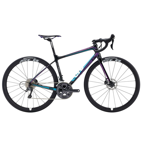 Liv Avail Advanced Pro    Price: £2,599   Made for the female form, the Liv Avail Pro is incredibly comfy. It can ride gravel or road and is made from carbon, so it's super light.