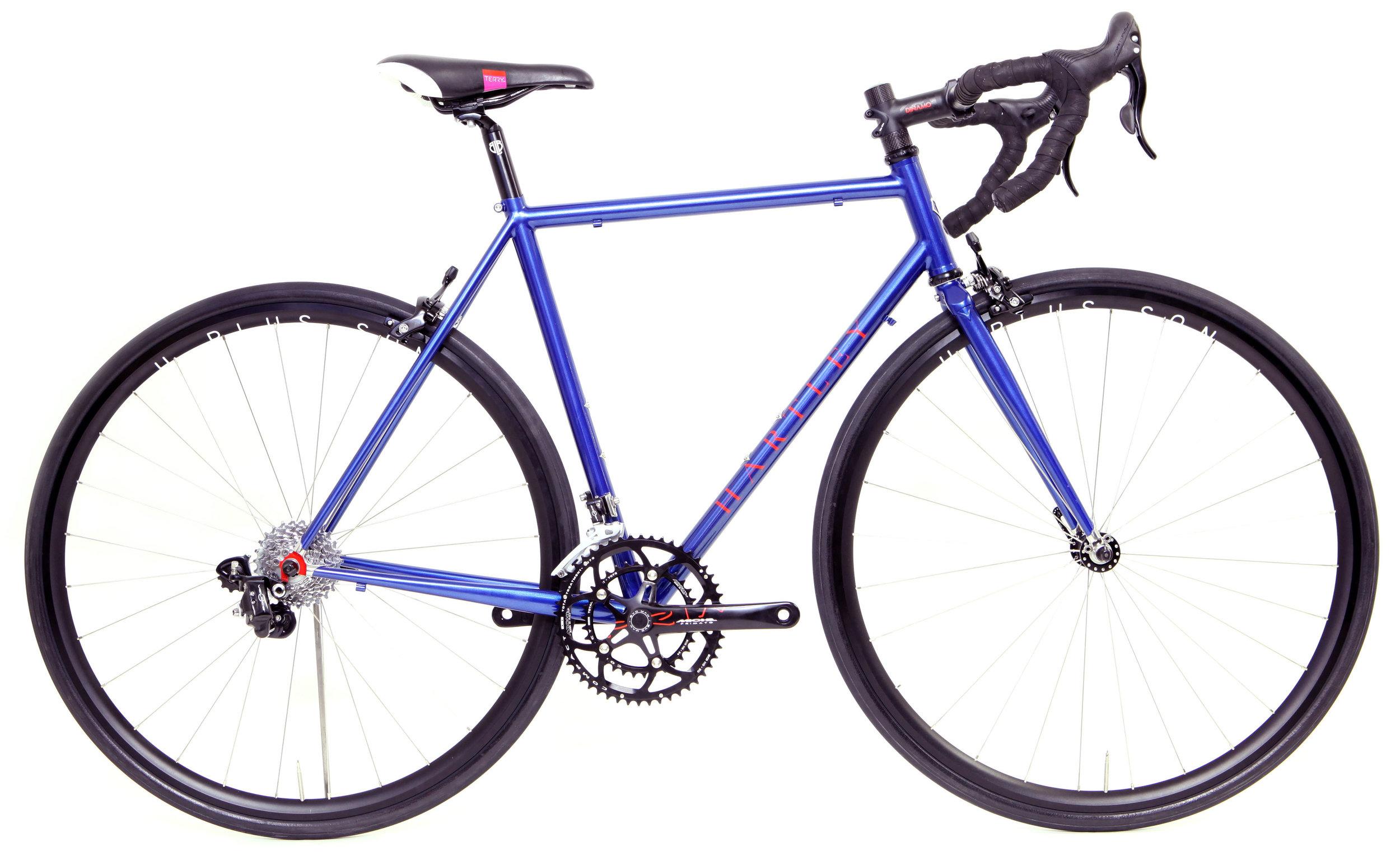 Jenni's bespoke bike - also known as Dirty Diana