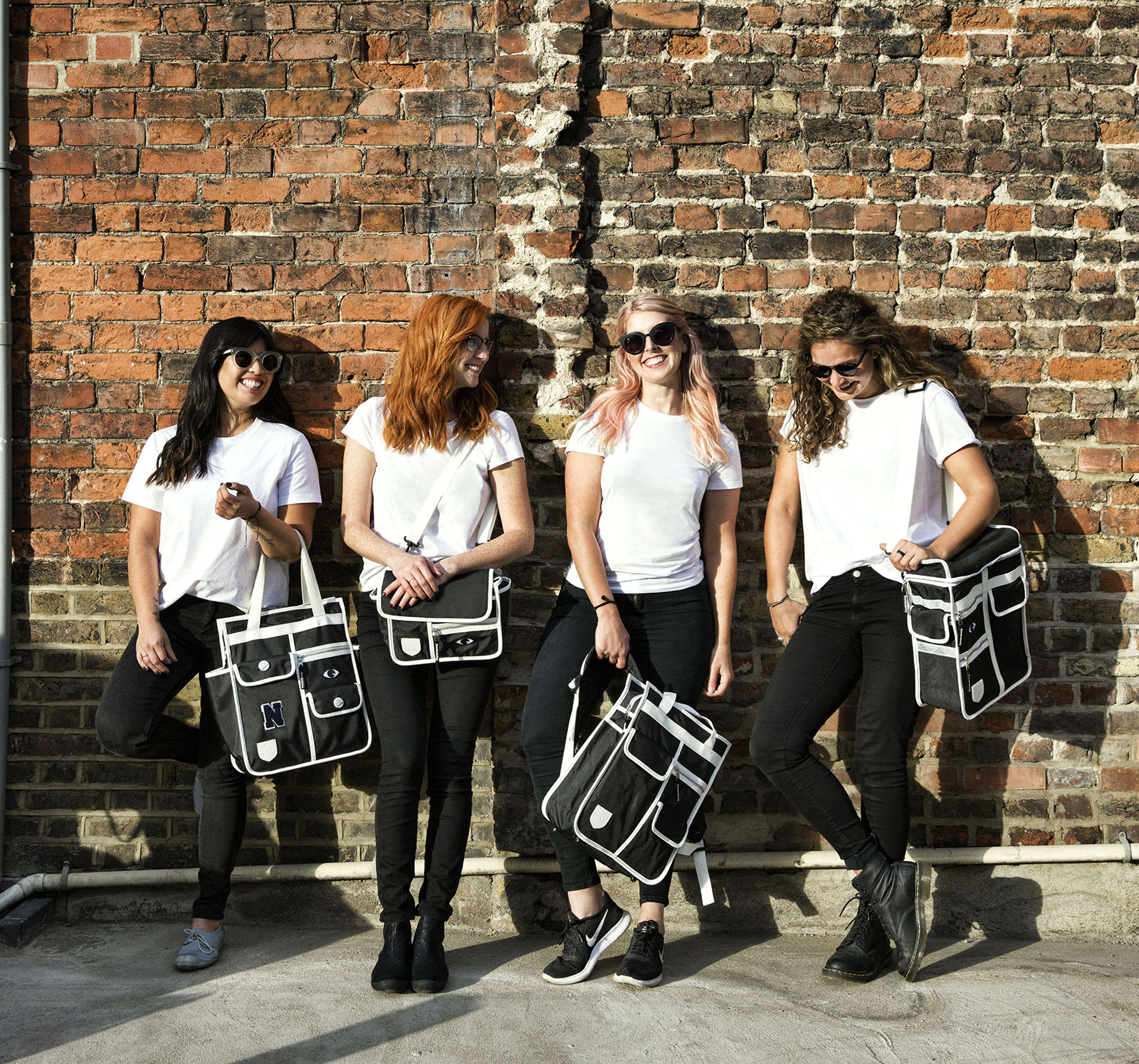 Monochrome pannier bag: The Cycling Store x Goodordering