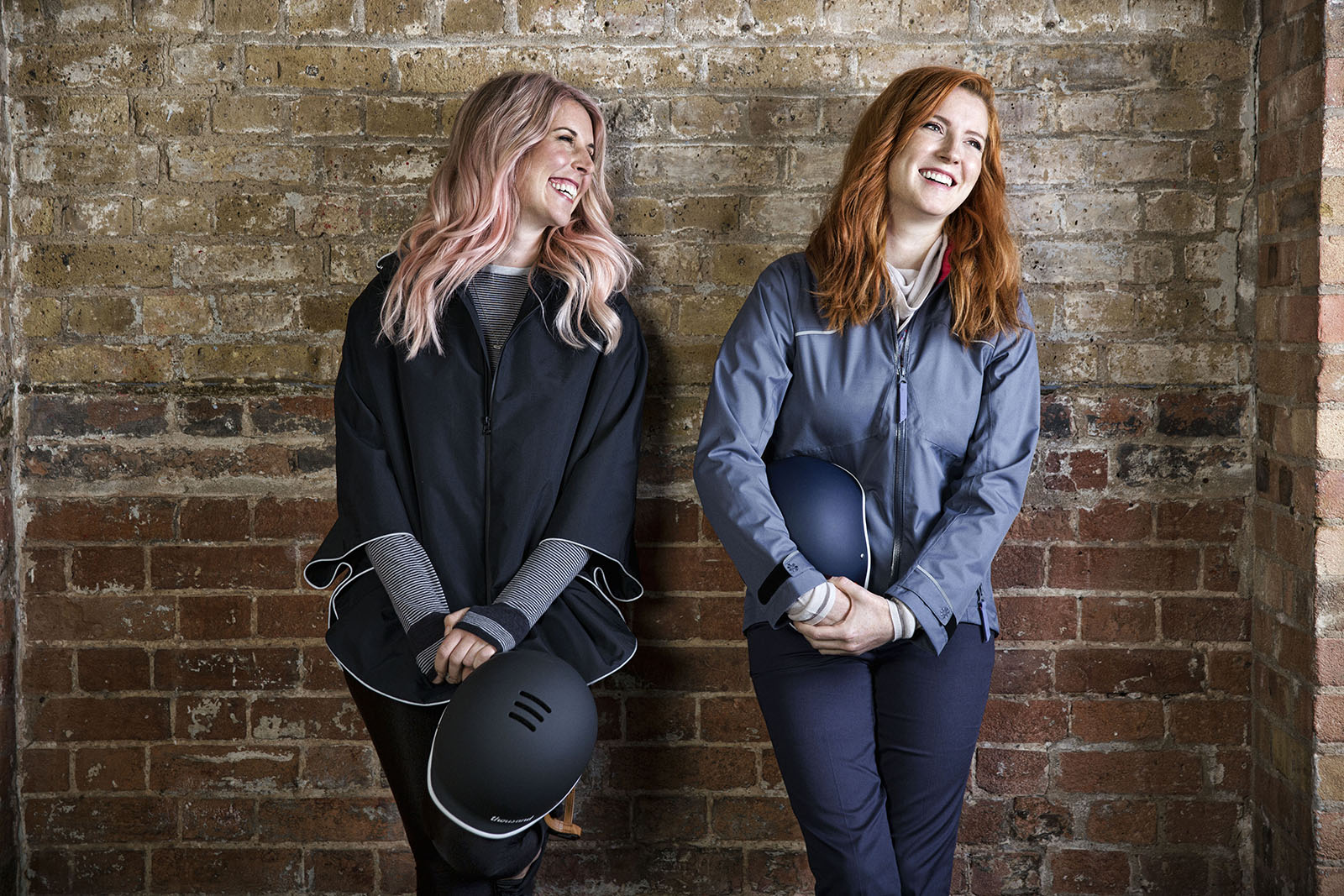 Rain poncho: Otto London - Laura Scott (left); Jess May (right)