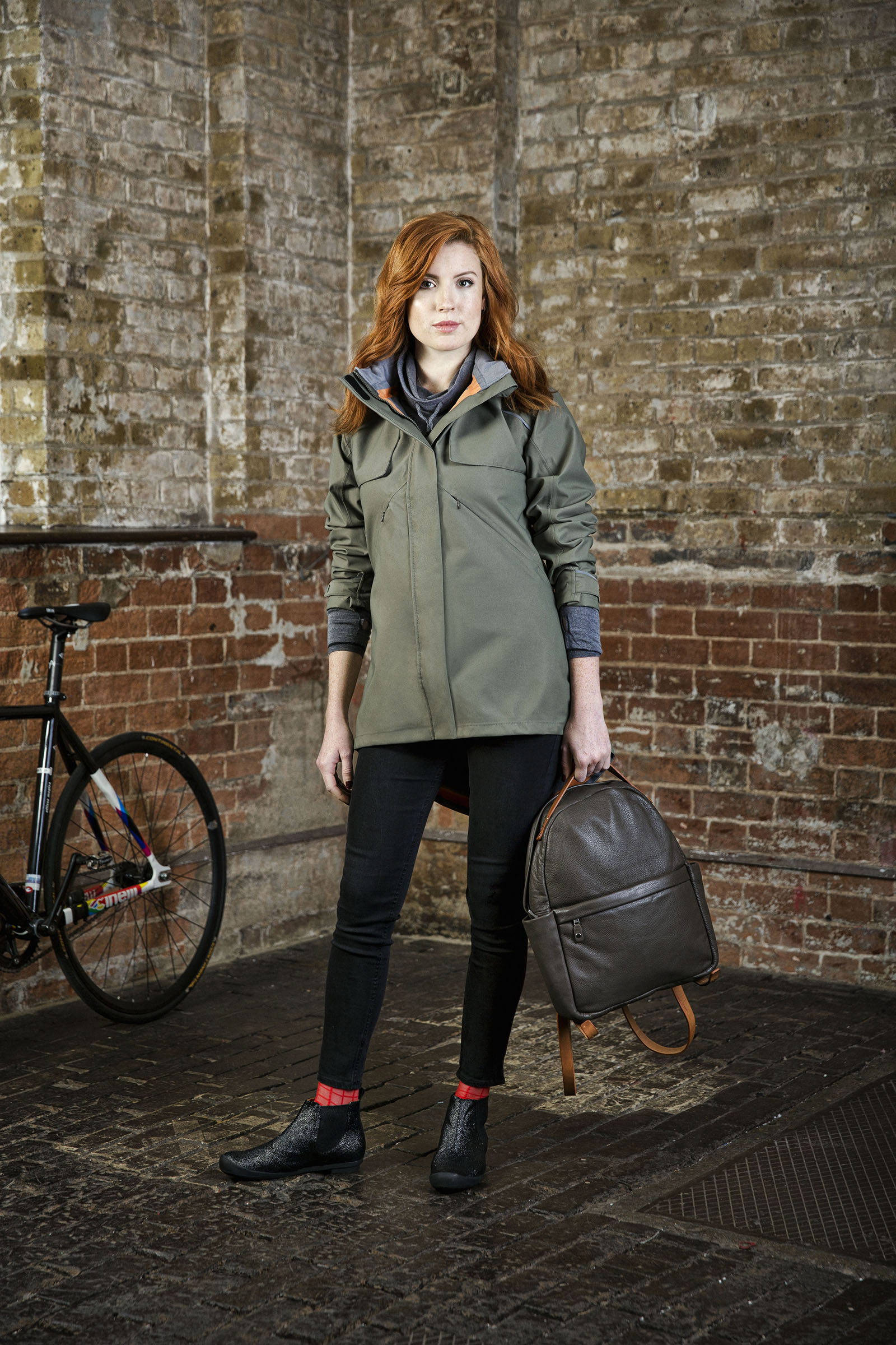 Drench coat:As Bold As - Jess May