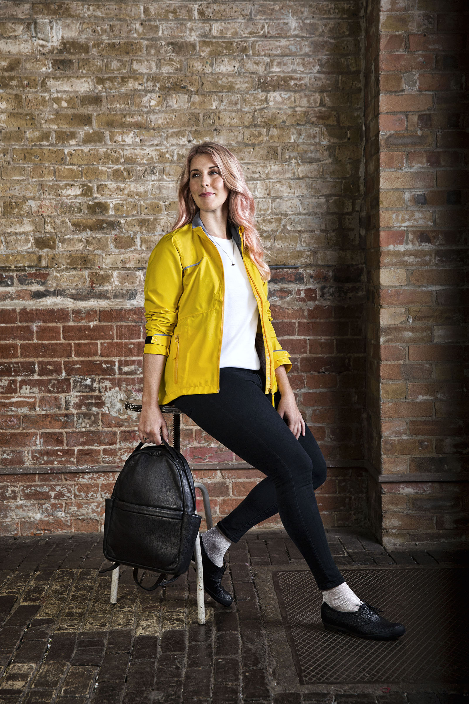 Mini leather rucksack: Kate Sheridan - Laura Scott