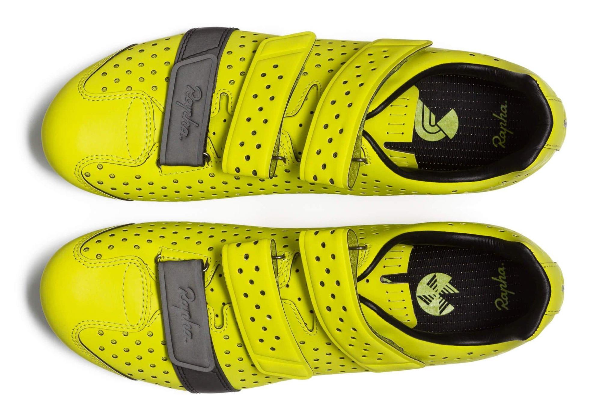 Rapha Fluro Climbers Shoes.jpg