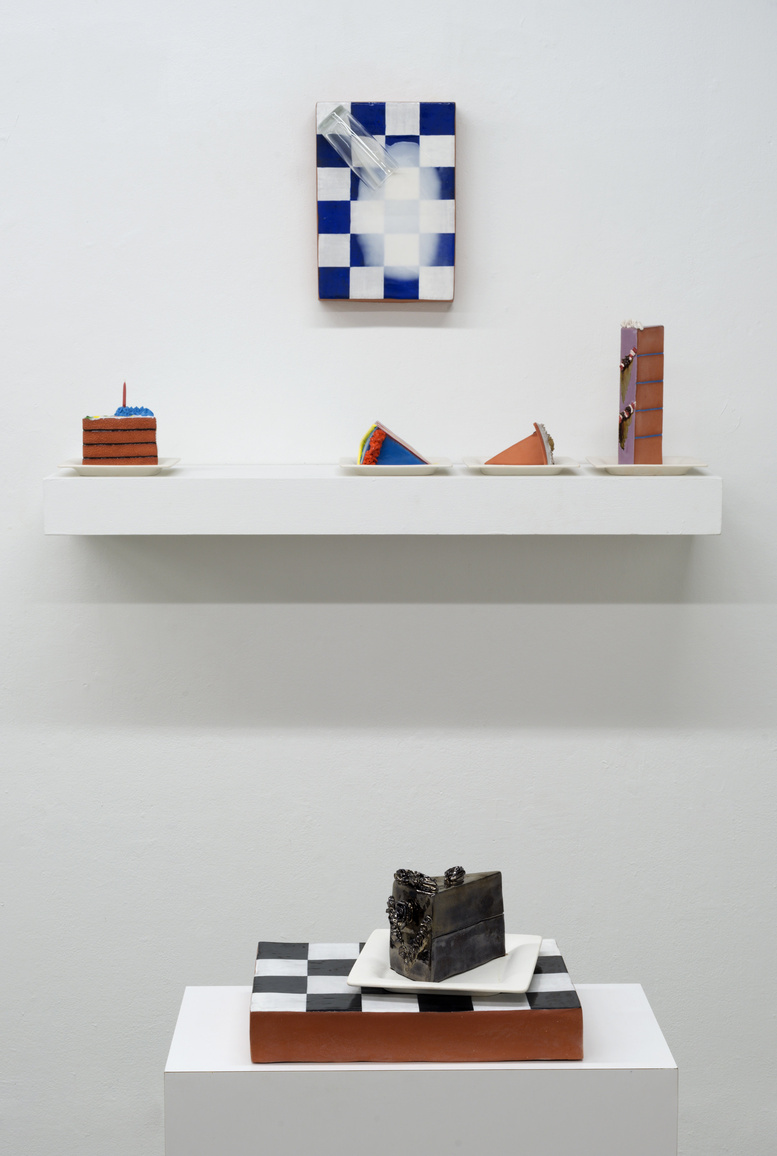 Mantel, Spilt Milk (installation view)
