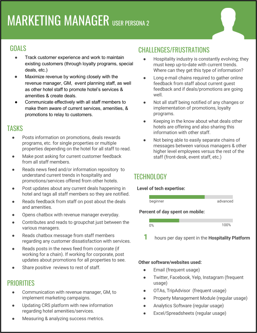 One of our personas for Marketing Manager (click to enlarge)