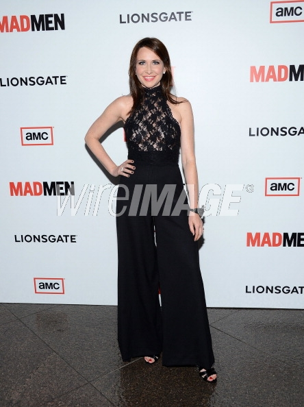 Janie Bryant in SHAREEN at the Mad Men Season 6 Premiere